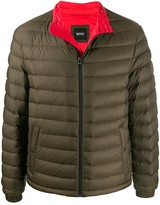 BOSS quilted padded jacket