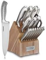 Cuisinart ClassicTM Stainless Steel 17-Piece Knife Block Set