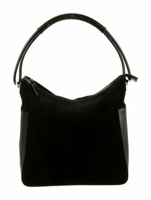 Gucci Suede Hobo Bag Black