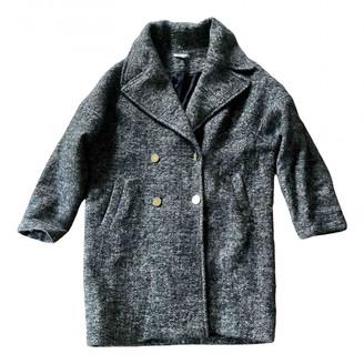 Les Petites Grey Wool Coats