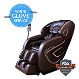 [2017 NEW SM SERIES ] AIR FLOAT 3D+ 6 INFRARED ROLLER MECHANISM KAHUNA SUPERIOR MASSAGE CHAIR - SM-9000 Comb (Brown WG)