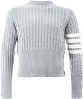 Thom Browne knit cardigan back jumper