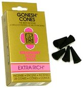 Gonesh ~ Incense Cones ~ Strawberry [Misc.] by Gonesh