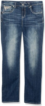 Grace in LA Women's Curvy Plus Size Straight Leg Jeans