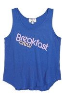 Wildfox Couture Girl's Breakfast Crew Graphic Tank