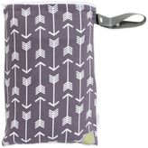 Itzy Ritzy® Travel HappensTM Swift Arrows Sealed Wet Bag with Adjustable Handle in Grey