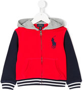 Ralph Lauren color block hooded jacket