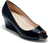 Cole Haan Grand Ambition Peep Toe Wedge Pump
