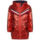 Tommy Hilfiger Tommy HilfigerGirls Red Metallic Hooded Jacket