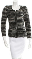Etoile Isabel Marant Leather-Trimmed Knit Jacket