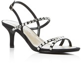 Caparros Christine Rhinestone-Embellished Satin Sandals