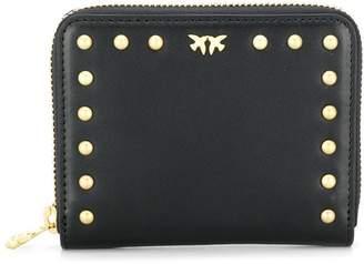 Pinko small studded love bird purse