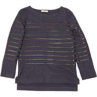Celine Navy Cotton Knitwear for Women