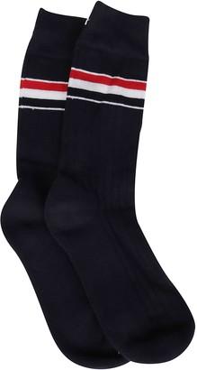 Thom Browne Striped Mid-Calf Socks