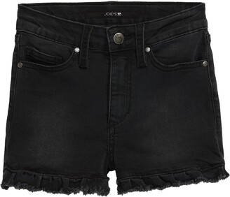 Joe's Jeans Charlie Ruffle Fray Hem High Waist Shorts