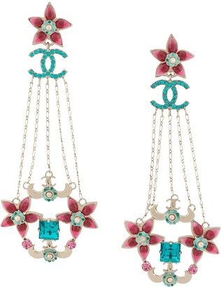 Chanel Pre Owned 2005 Long Earrings