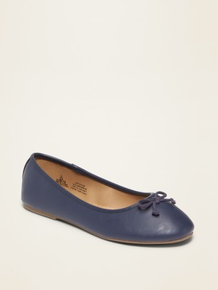 Old Navy Faux-Leather Ballet Flats for Girls