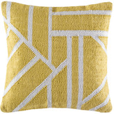 Kas Splice Chartreuse Square Cushion Cover