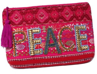 Ale By Alessandra Women's Peace Of Cake Hand Embroidered Beaded Clutch