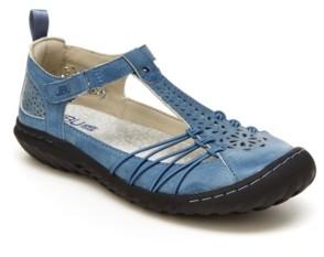 JBU Women's Sahara Casual Mary Jane Flats Women's Shoes