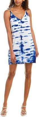 Young Fabulous & Broke Tie-Dye Slip Dress