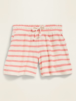 Old Navy Loop-Terry Midi Shorts for Girls