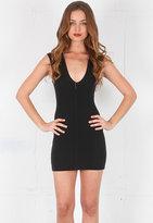 Bec & Bridge Reversible Body Dress in Black -