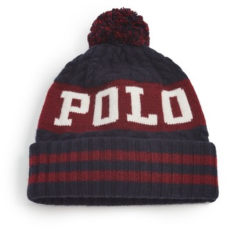 Polo Ralph Lauren Cable Polo Pom Hat