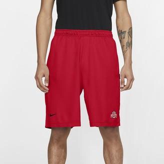 Nike Men's Shorts College Dri-FIT Coach (Ohio State)