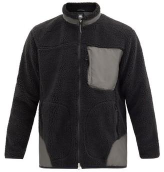 Descente Technical-panel Boa-fleece Jacket - Black