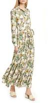 La DoubleJ Bellini Long Sleeve Shirtdress