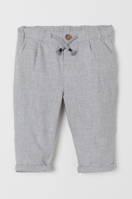 H&M Drawstring Pants - Gray
