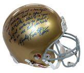Steiner Sports Rudy Ruettiger Autographed Notre Dame Full Size Helmet