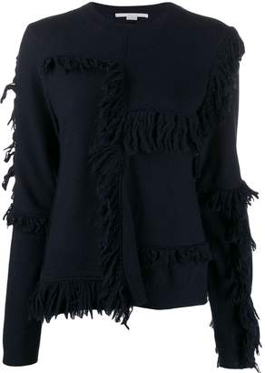 Stella McCartney fringed knitted jumper