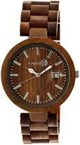 Earth Wood Women's Stomates Quartz Bracelet Watch, 40mm