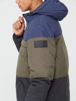 Very Man Colourblock Padded Jacket - Multi