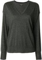 Isabel Marant Alford V-neck pullover - women - Merino - 36