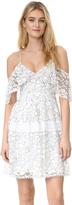 Nicholas N Basque Lace Dress