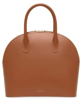 Mansur Gavriel Top Handle Rounded Leather Bag