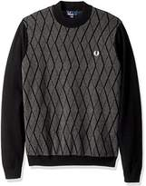 Fred Perry Men's Tonal Turtle Neck Jumper