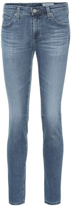 AG Jeans The Prima low-rise skinny jeans