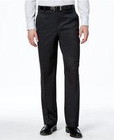 Lauren Ralph Lauren Charcoal Solid Slim-Fit Pants
