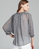 Diane von Furstenberg Top - Bryn Printed Silk