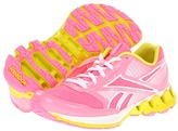 Reebok Kids - Zigkick Ride (Little Kid) (Pink Zing/White/Solar Green) - Footwear