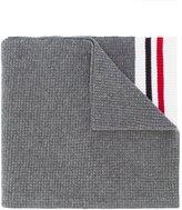 Moncler Gamme Bleu striped detail scarf