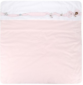 Fendi Kids Bow Print Sleeping Bag