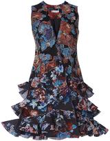 Mary Katrantzou Black Embroidered Rokina Dress