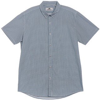 JB Britches Short Sleeve Front Button Shirt