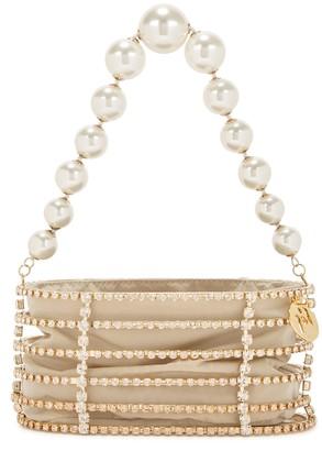 Rosantica Melanie Crystal-embellished Top Handle Bag