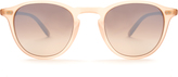Garrett Leight Hampton round-frame sunglasses